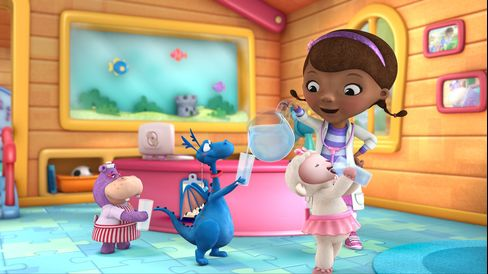 Disney's 'Doc McStuffins' Overtakes 'Dora' in Preschool TV Fight