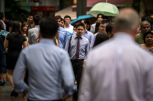 Singapore Companies Brace for End of Biggest Employment Surge