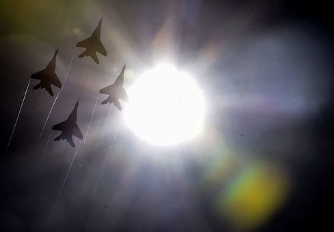 Russian MIG-29 Jets