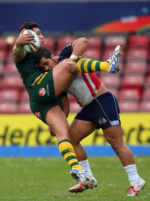 Rugby League World Cup Quarterfinal Match