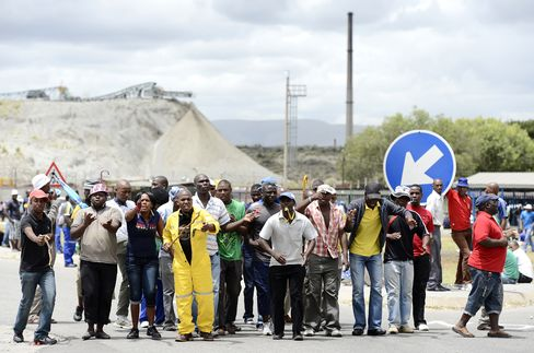 Police Investigating Shooting of Five Anglo Platinum Workers