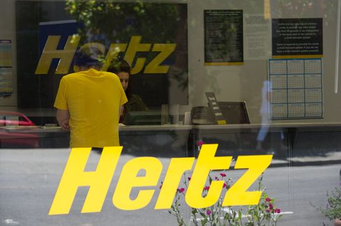 Hertz Gains as Annual Forecast Exceeds Estimates