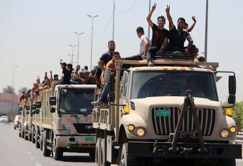 Iraqi volunteers