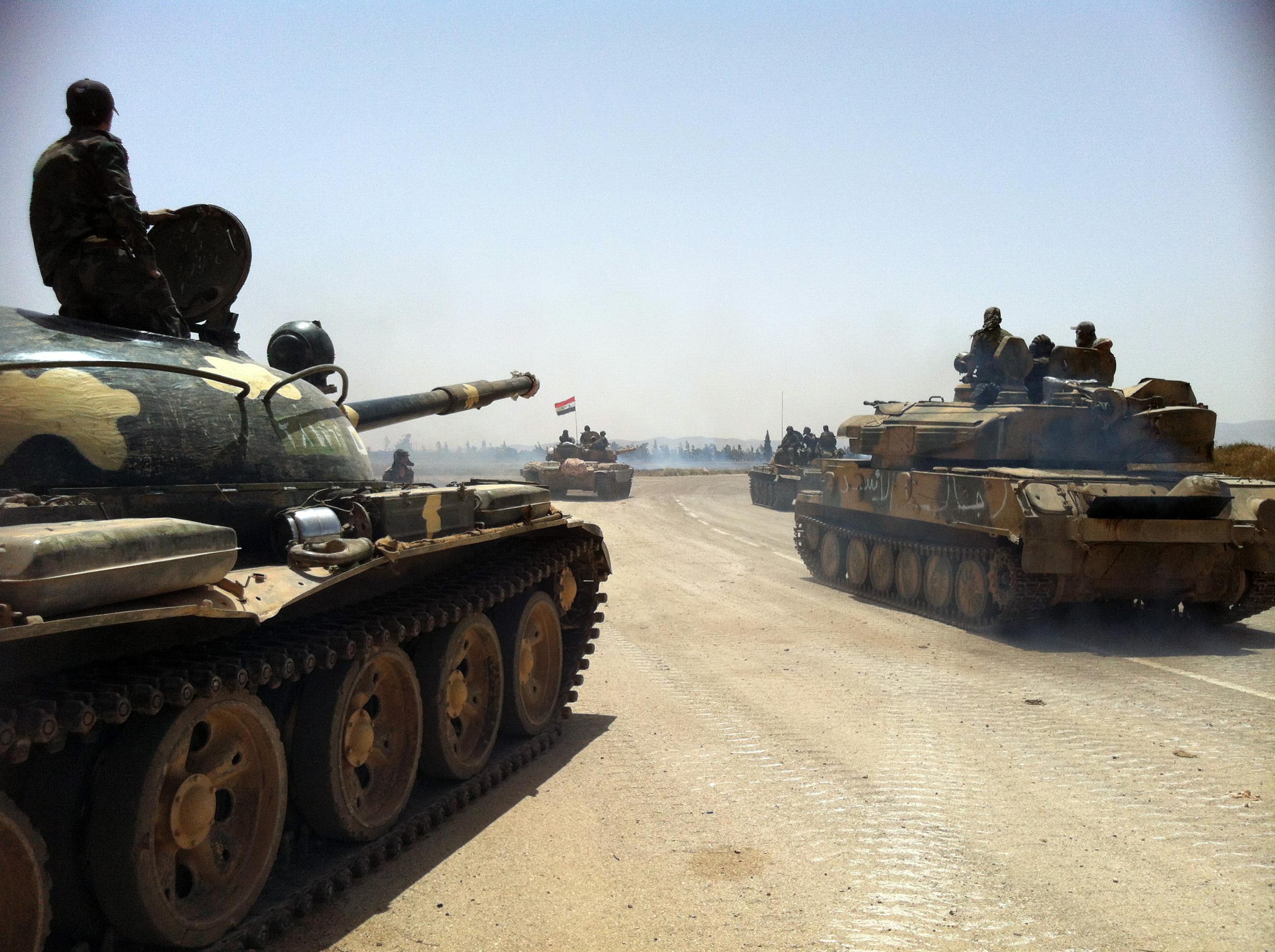 Российские танки в сирии 22 фотография