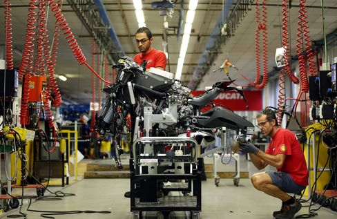 Italy Manufacturing at Eight-Month Low