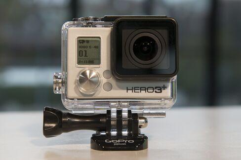 A GoPro Hero 3+ Camera