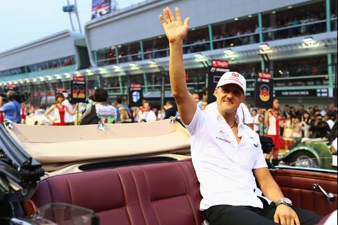 Schumacher Says Will Retire From Formula One After Season