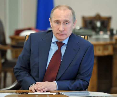 Russia's Prime Minister and President-elect Vladimir Putin
