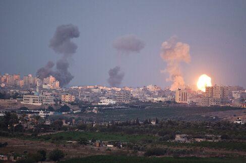 Gaza Gets Shelled