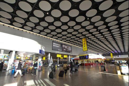 Heathrow Tends to Olympic Farewell