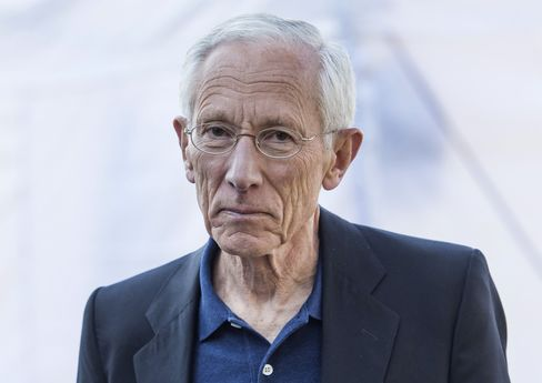Federal Reserve Vice Chairman Stanley Fischer at the Jackson Hole economic symposium on Aug. 28. Photographer: David Paul Morris/Bloomberg