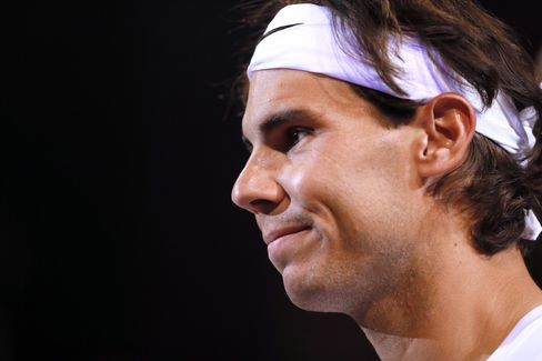 Tennis Champion Rafael Nadal