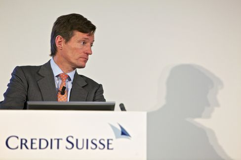 Credit Suisse Group AG CEO Brady Dougan