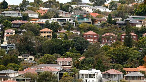Houses in a suburb of Sydney, Australia.