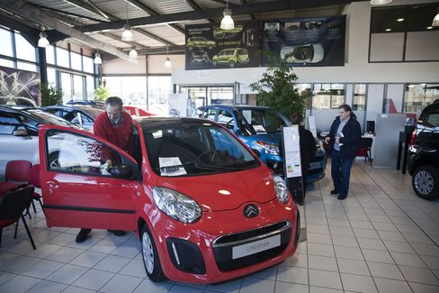 PSA Peugeot Citroen dealership