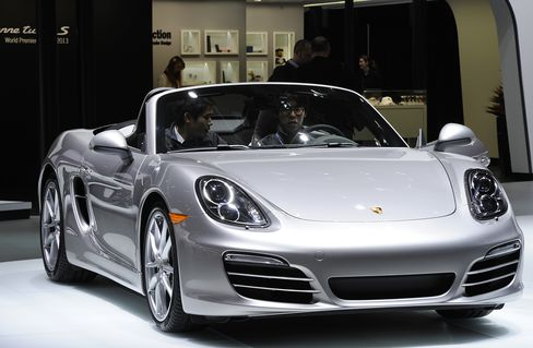 Porsche Stores in U.S. Pure Gold With Double Buick's Sales