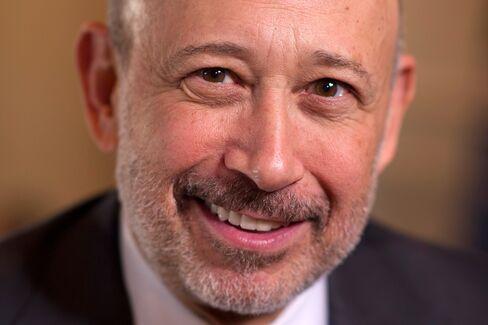 Goldman CEO  Lloyd C. Blankfein