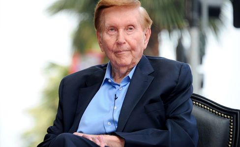 Sumner Redstone Honored On The Hollywood Walk Of Fame