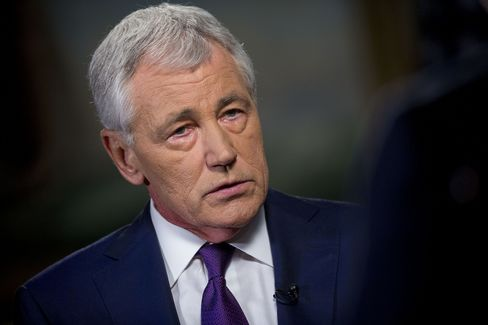 U.S. Secretary of Defense Chuck Hagel