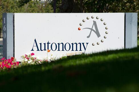 Autonomy Finance Reports Before HP Deal Probed by U.K. Regulator