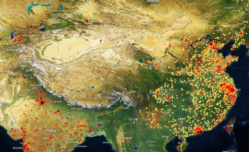 SpaceKnow uses satellites to observe6,000 industrial sites across China