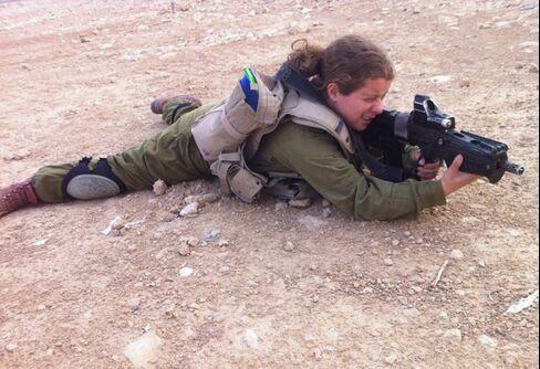 Israeli soldier Arielle Werner