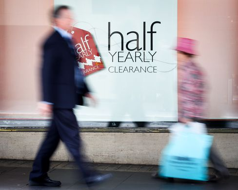 Unprecedented Retail Slump Hits Debt Holders