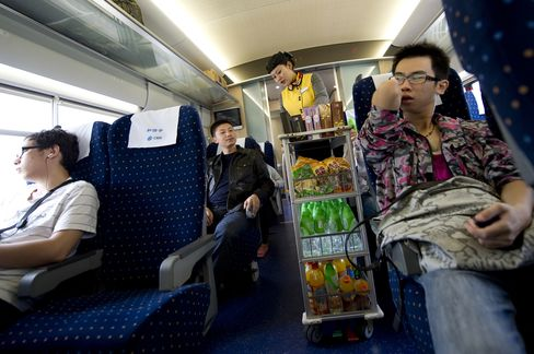 Bullet Trains Luring Customers from China Airlines Hurt Profits