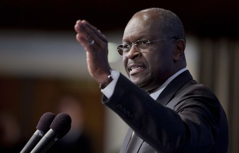 Cain Denies Sexual Harassment of Woman Paid 'Settlement'