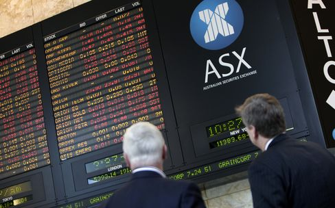 Australian Equities Plunge Most in Two Years Amid Global Rou