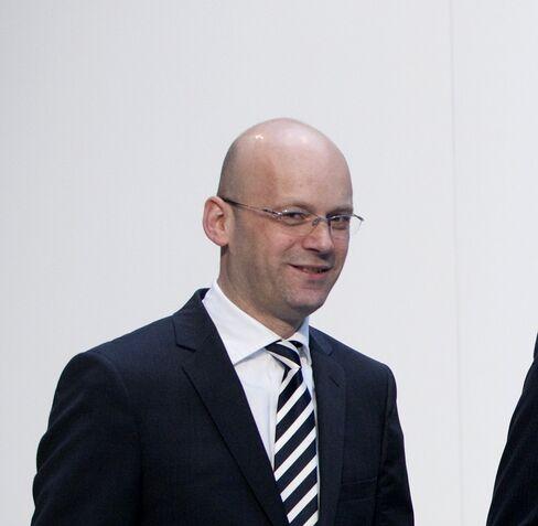 Mark Langer, chief financial officer of Hugo Boss AG