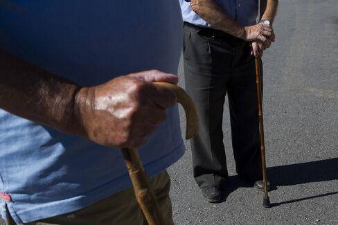 Elderly Men in Spain