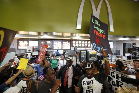 Fast-Food Employee Strike