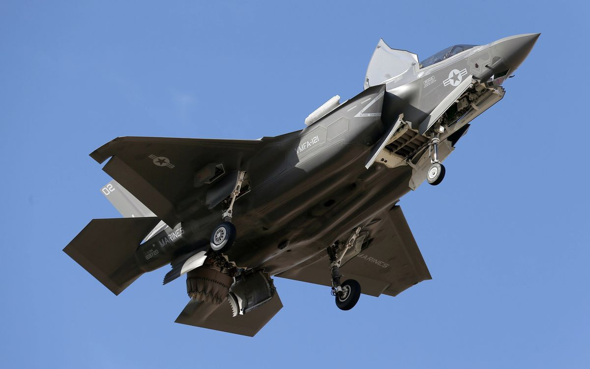 F-35 Reliability Found Wanting