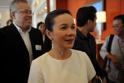 Philippine Senator Grace Poe.