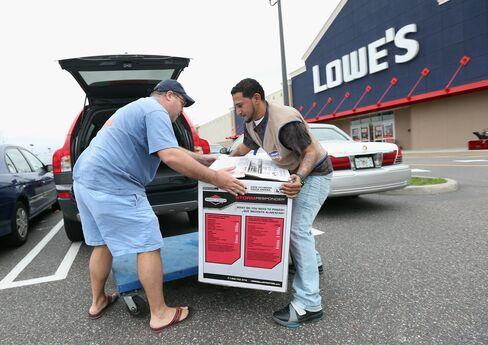 Lowe's Profit Tops Estimates as Sandy Preparations Boost Sales