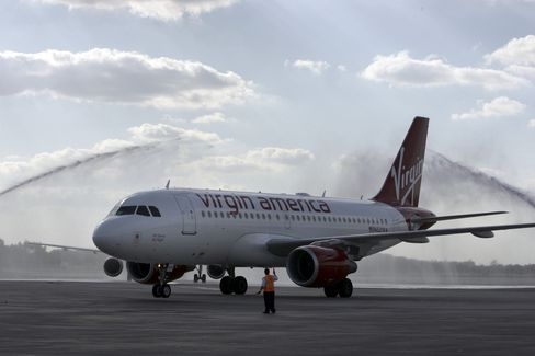 Virgin America Cuts Airbus Order, Delays 30 Jets to Slow Growth