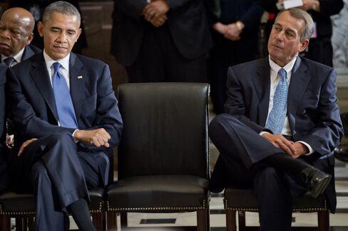 U.S. President Barack Obama & House Speaker John Boehner
