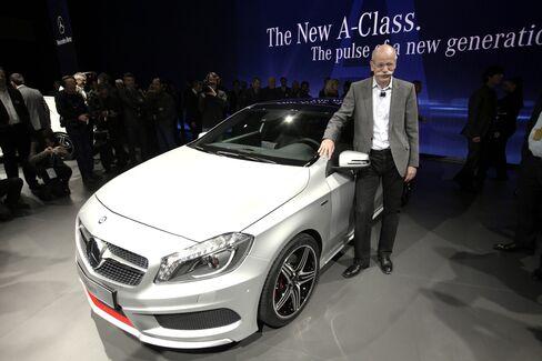 Mercedes Debuts New A Class