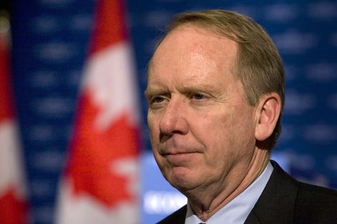 William Downe, CEO of Bank of Montreal, in this Dec. 2009 file photo. Photographer: Norm Betts/Bloomberg