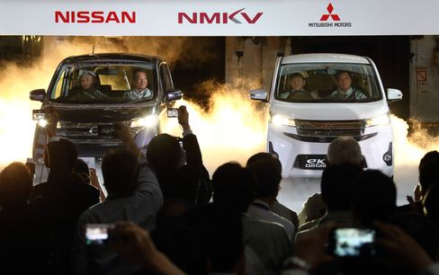 Nissan Expands in Japan's Minicar Market With First Joint Model