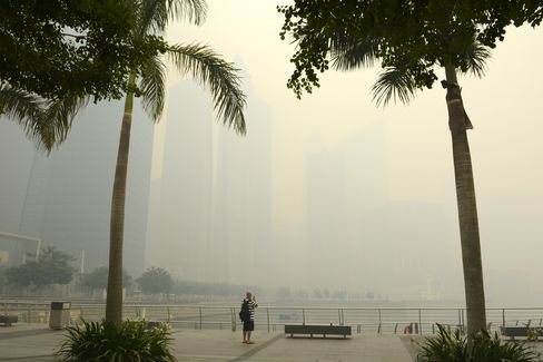 Hazardous Haze Clouds Singapore Tourism Outlook