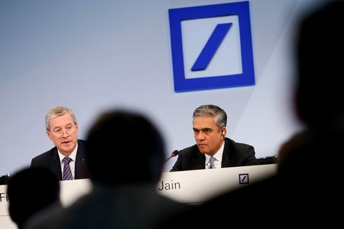 Deutsche Bank Avoids Share Sale as Jain Follows Path of Pain