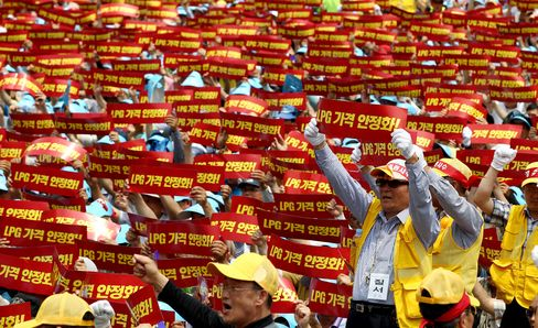 South Korean Taxi Drivers Go on First Nationwide Strike