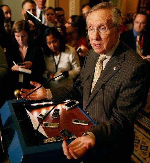 Reid Plans Rewrite of Contractor Tax Repeal Bill