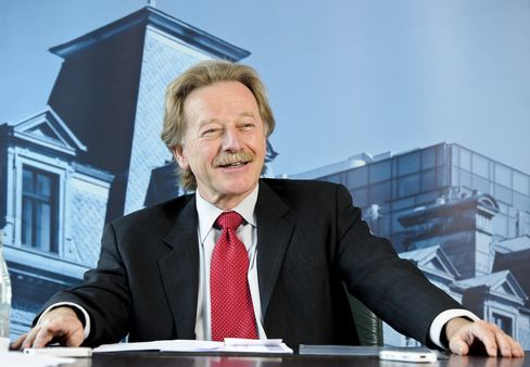 Luxembourg Central Bank Governor Yves Mersch