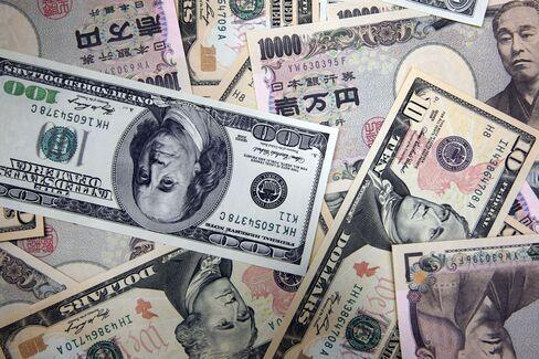 Yen Hits Highest Against Dollar Since 1995