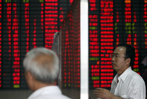 China's Stocks Reverse Earlier Gains on Manufacturing Concerns