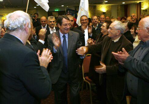 DISY Party Leader Nicos Anastasiades