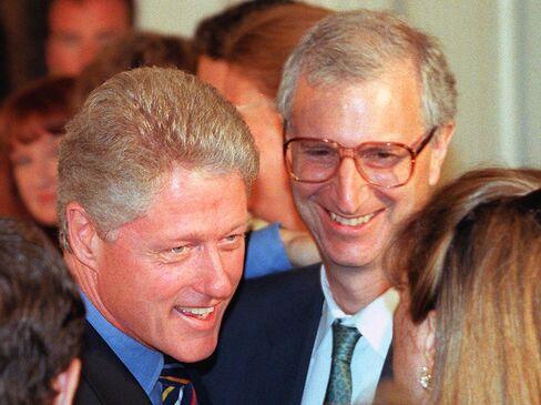 Bill Clinton and Ira Magaziner